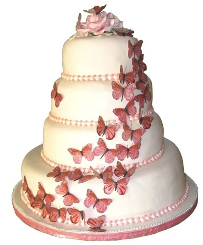 pink-butterfly-wedding-cakes-design