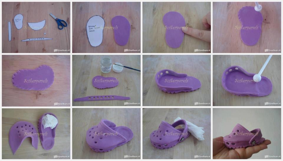 Crocs fondant schoenen