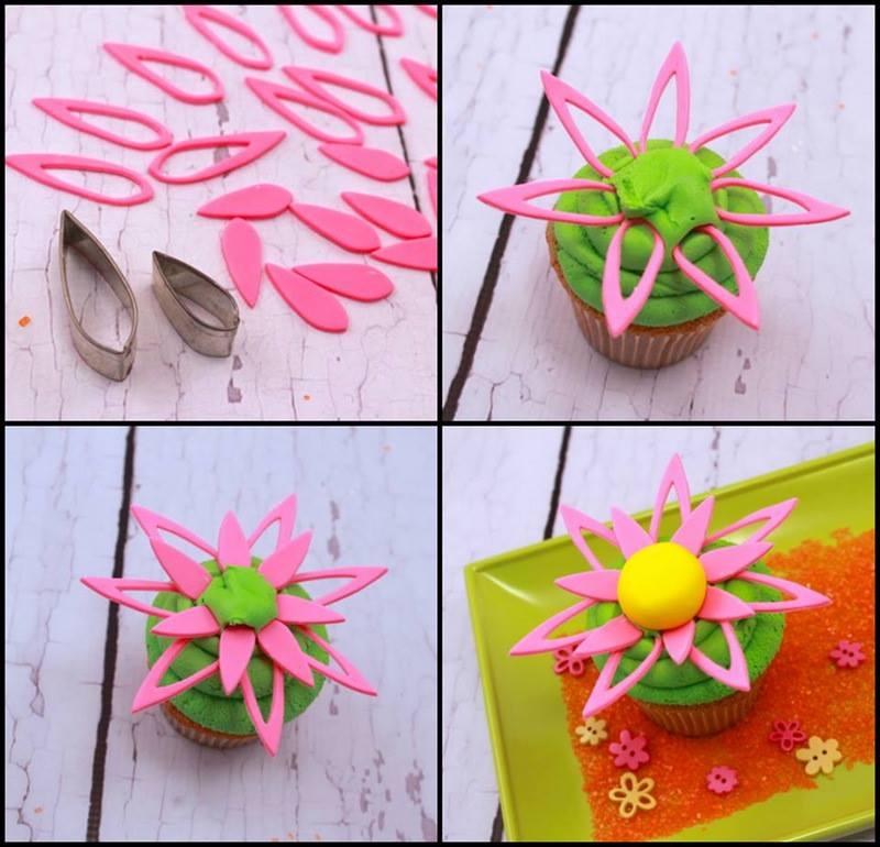 Cup cake bloem