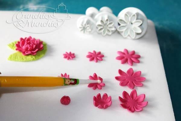 bloemen uit steken